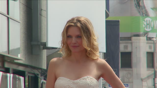 michelle pfeiffer walk of fame hollywood michelle marie pfeiffer is an american actress singer and producer she began her acting career in 1978 and... - michelle pfeiffer stock videos & royalty-free footage