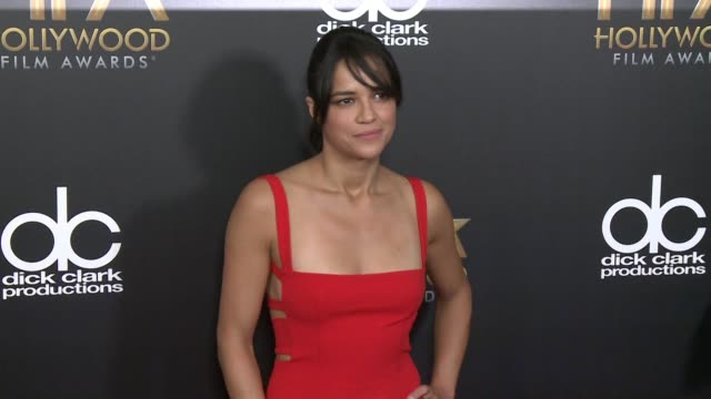 Michelle Rodriguez at 2015 Hollywood Film Awards in Los Angeles CA