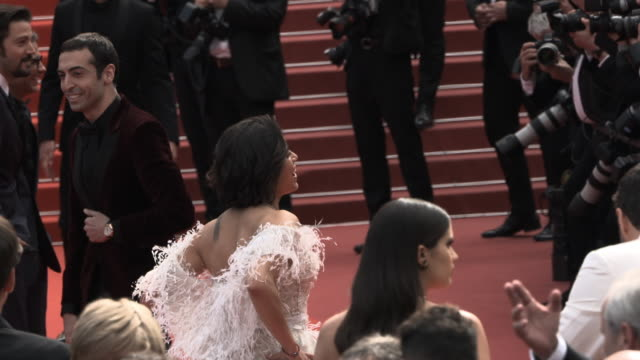 GIF Michelle Rodriguez at 'Once Upon a time in Hollywood ' Red Carpet Arrivals The 72nd Cannes Film Festival at Grand Theatre Lumiere on May 21 2019...