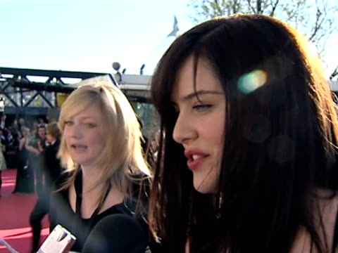 michelle ryan on doctor who and working in america as the bionic woman at the tv bafta awards at london . - doctor who stock videos & royalty-free footage