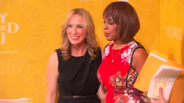 michelle sobrino and gayle king at variety's power of women: new york at cipriani 42nd street on april 25, 2014 in new york city. - michelle gayle stock videos & royalty-free footage