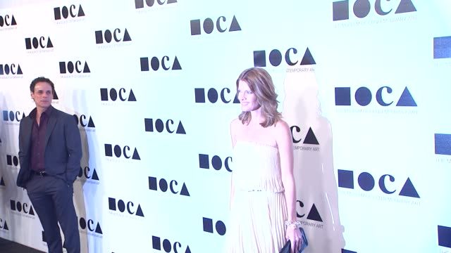 michelle stafford at the the museum of contemporary art los angeles presents the annual moca gala at los angeles ca - los angeles museum of contemporary art stock videos and b-roll footage
