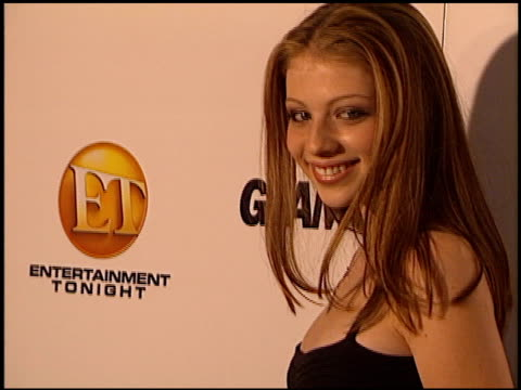 michelle trachtenberg at the 2002 entertainment tonight emmy party at the mondrian hotel in west hollywood, california on september 22, 2002. - michelle trachtenberg stock videos & royalty-free footage