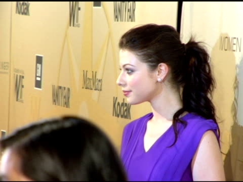 stockvideo's en b-roll-footage met michelle trachtenberg at the 2006 crystal and lucy awards at the century plaza in century city california on june 7 2006 - century plaza