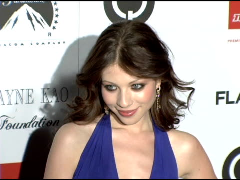 michelle trachtenberg at the flaunt magazine's 7 year anniversary party benefiting para los ninos at a private residence in los angeles, california... - michelle trachtenberg stock videos & royalty-free footage