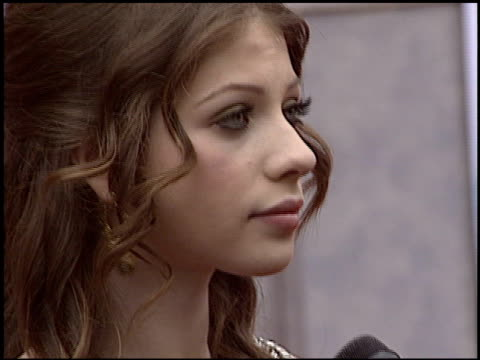 michelle trachtenberg at the 'ice princess' premiere at the el capitan theatre in hollywood, california on march 13, 2005. - michelle trachtenberg stock videos & royalty-free footage