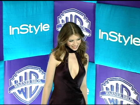michelle trachtenberg at the in style magazine and warner brothers studios 6th annual golden globe party at the beverly hilton in beverly hills,... - ミシェル・トラクテンバーグ点の映像素材/bロール