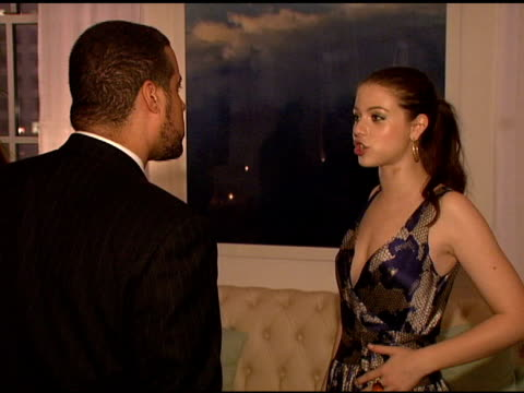 michelle trachtenberg at the la mer and oceana present world ocean day 2008 at new york ny. - michelle trachtenberg stock videos & royalty-free footage
