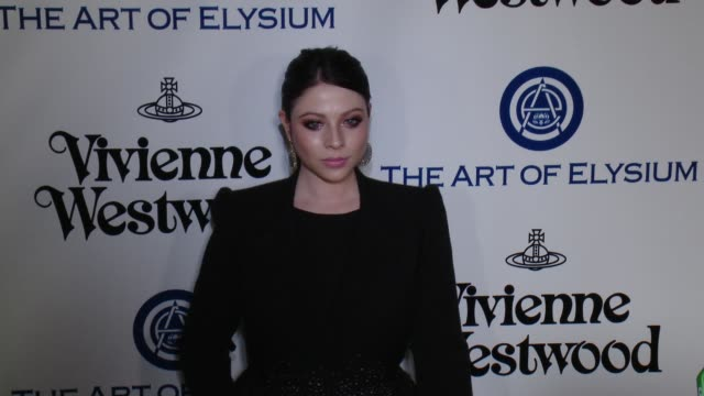michelle trachtenberg at the the art of elysium's ninth annual heaven gala at 3labs on january 9, 2016 in culver city, california. - michelle trachtenberg stock videos & royalty-free footage