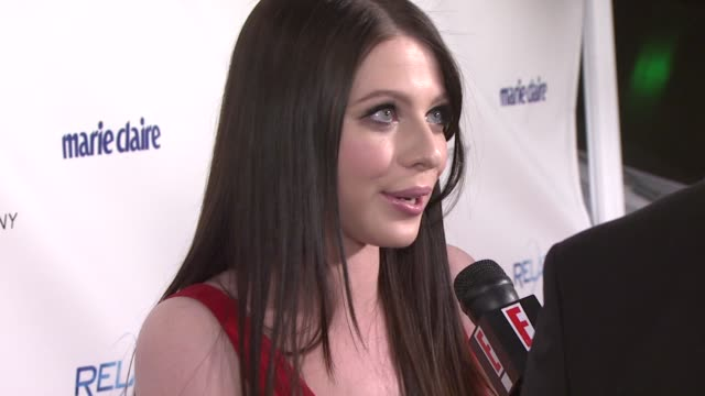 michelle trachtenberg at the the weinstein company and relativity media's 2011 golden globe awards after party at beverly hills ca. - michelle trachtenberg stock videos & royalty-free footage