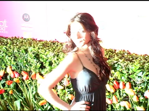michelle trachtenberg at the us weekly hot hollywood awards at republic restaurant and lounge in los angeles, california on april 26, 2006. - us weekly stock videos & royalty-free footage