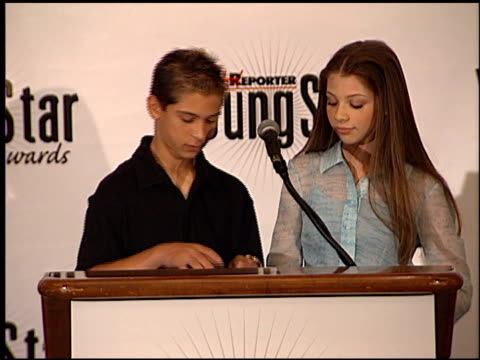michelle trachtenberg at the youngstar awards nominations at the mondrian hotel in west hollywood, california on september 6, 2000. - michelle trachtenberg stock videos & royalty-free footage