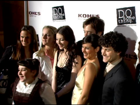 michelle trachtenberg, jamie lynn sigler, jimmy fallon and brick awards winners at the 2006 brick awards from do something in celebration of young... - jamie lynn sigler stock videos & royalty-free footage