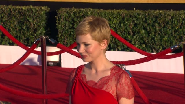Michelle Williams at 18th Annual Screen Actors Guild Awards Arrivals on 1/29/2012 in Los Angeles CA