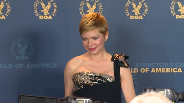 Michelle Williams at 64th Annual DGA Awards Press Room on 1/28/12 in Los Angeles CA
