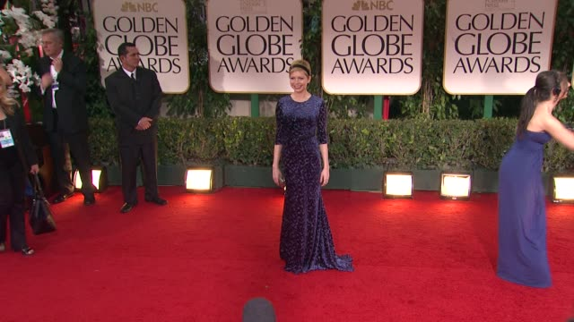 Michelle Williams at 69th Annual Golden Globe Awards Arrivals on January 15 2012 in Beverly Hills California