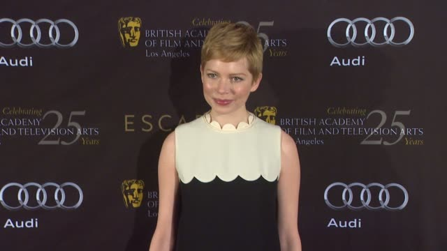 Michelle Williams at BAFTA Los Angeles 18th Annual Awards Season Tea Party on 1/14/2012 in Beverly Hills CA