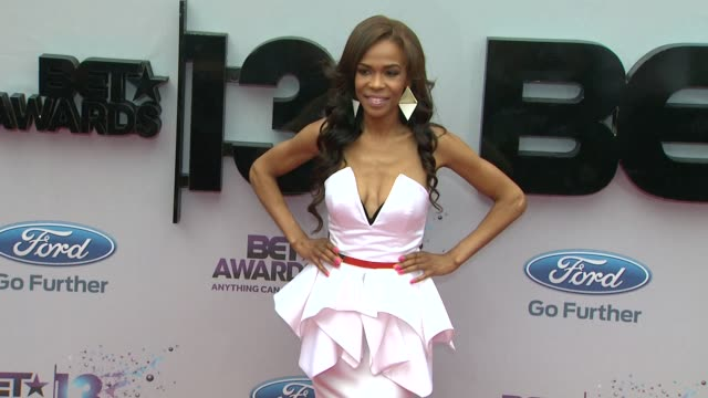 Michelle Williams at BET 2013 Awards Arrivals on 6/30/13 in Los Angeles CA