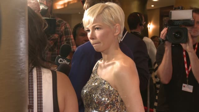 Michelle Williams at Princess of Wales Theatre on September 13 2016 in Toronto Canada