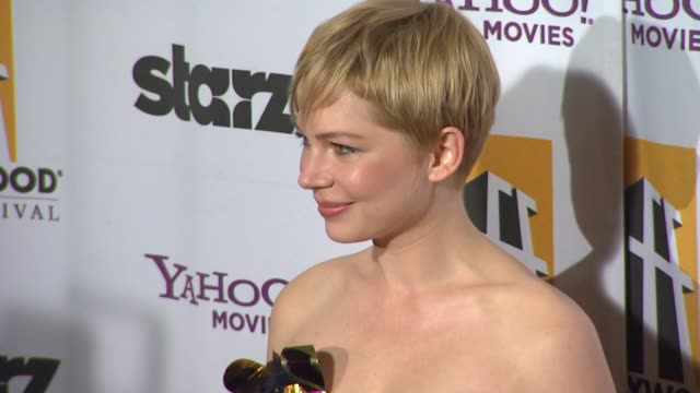 Michelle Williams at the 15th Annual Hollywood Film Awards Gala at Beverly Hills CA