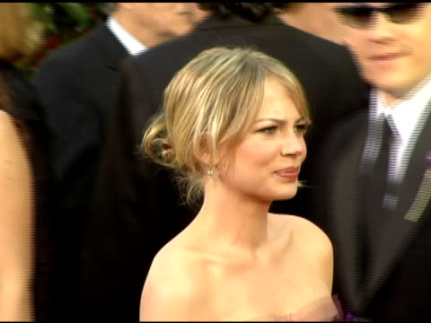 Michelle Williams at the 2006 Golden Globe Awards Arrivals at the Beverly Hilton in Beverly Hills California on January 16 2006