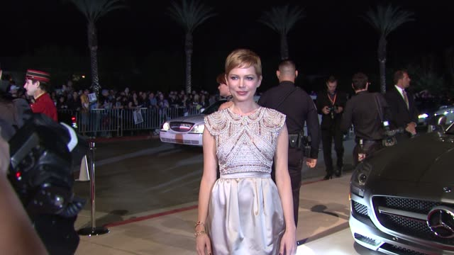 Michelle Williams at The 23rd Annual Palm Springs International Film Festival Awards Gala on 1/7/2012 in Palm Springs CA