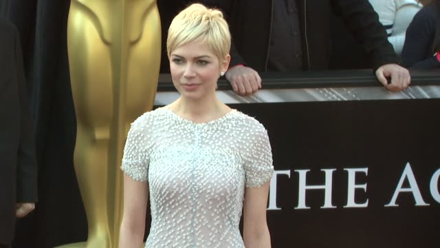 Michelle Williams at the 83rd Annual Academy Awards Arrivals at Hollywood CA