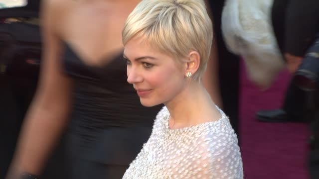 Michelle Williams at the 83rd Annual Academy Awards Arrivals Part 2 at Hollywood CA