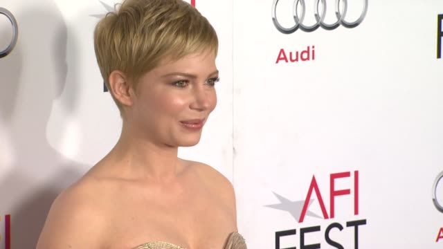Michelle Williams at the AFI Fest 2011 Gala Screening Of 'My Week With Marilyn' at Hollywood CA