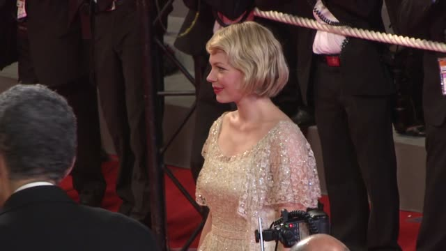 Michelle Williams at the Cannes arrivals for 'Adoration' in Cannes on May 22 2008