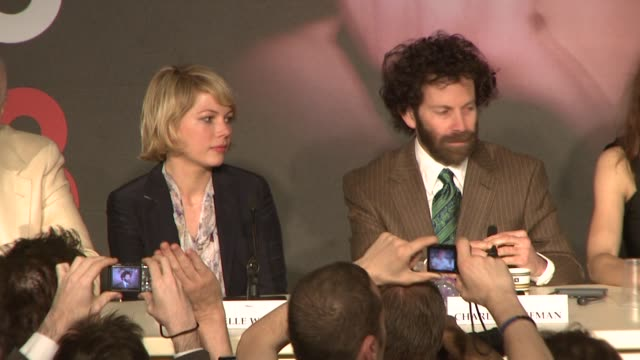Michelle Williams at the Cannes press conference for 'Synecdoche New York' in Cannes on May 23 2008