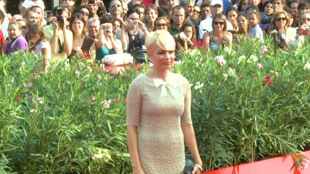Michelle Williams at the Meek's Cut Off Premiere 67th Venice Film Festival at Venice