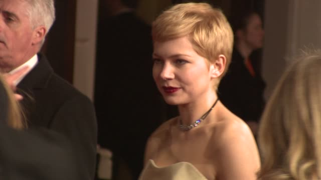 Michelle Williams at The Royal Opera House on February 12 2012 in London England