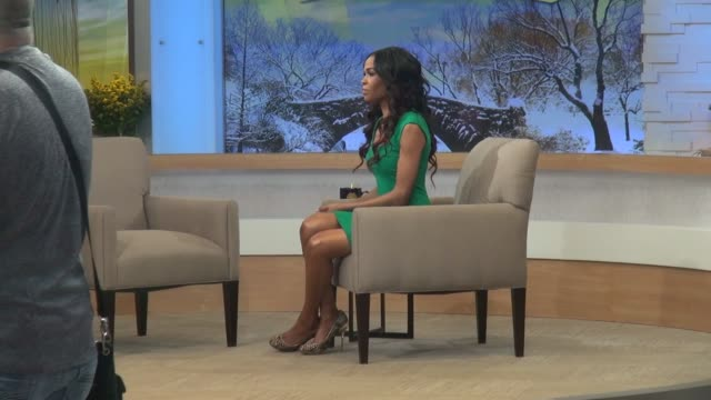 michelle williams of destiny's child at the 'good morning america' studio in new york, ny, on 1/24/13. - destiny's child stock videos & royalty-free footage