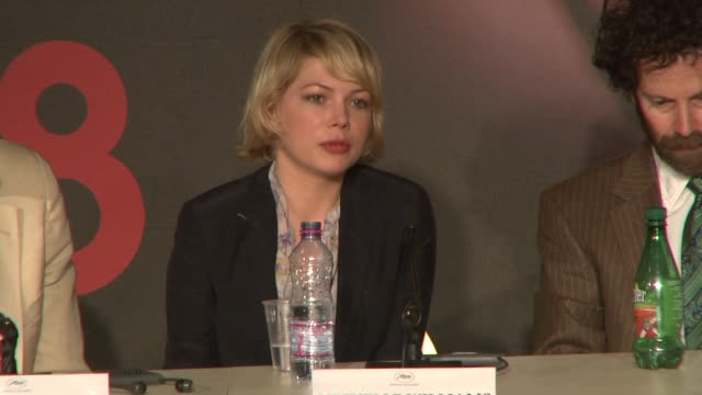 Michelle Williams on her character at the Cannes press conference for 'Synecdoche New York' in Cannes on May 23 2008