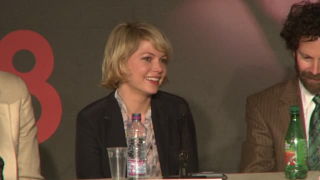Michelle Williams on making the film at the Cannes press conference for 'Synecdoche New York' in Cannes on May 23 2008