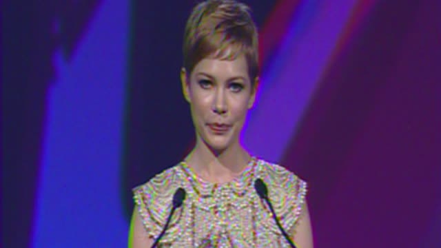 Michelle Williams on Marilyn Monroe at The 23rd Annual Palm Springs International Film Festival Awards Gala on in Palm Springs CA