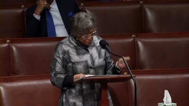 michigan congressman brenda lawrence says in debate on the cares act to deal with economic and healthcare aspects of the coronavirus outbreak that... - mail stock videos & royalty-free footage