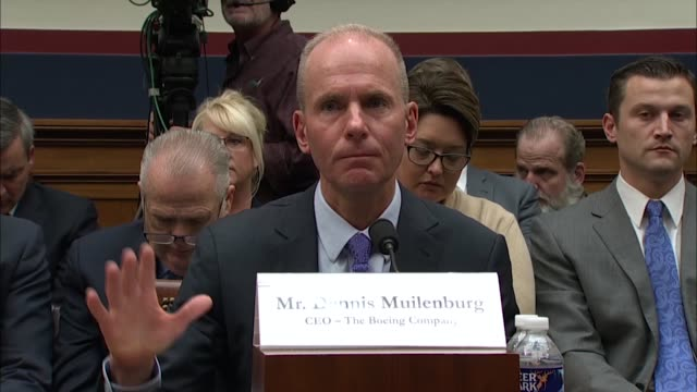michigan congressman paul mitchell says at an oversight hearing of the boeing 737 max after a pair of accidents by the house transportation and... - stabilisers stock videos & royalty-free footage