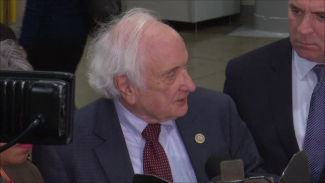 michigan congressman sander levin tells press after meeting with general motors chief executive officer mary barra that mexico has the lowest... - congress stock videos & royalty-free footage