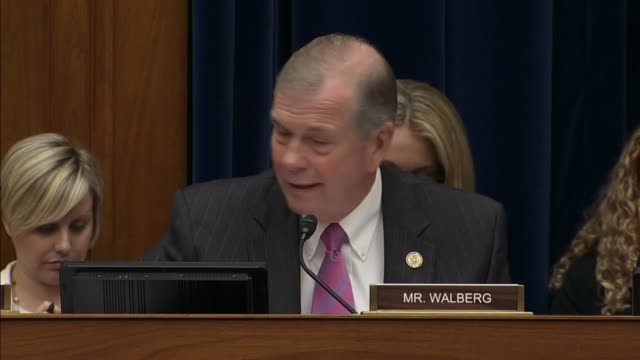 Michigan Congressman Tim Walberg a prolife Republican tells Planned Parenthood executive his opinions of preciousness of life concludes remarks with...