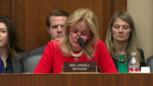 michigan congresswoman debbie dingell tells facebook ceo mark zuckerberg at a house energy and commerce committee hearing that on practically every... - logo stock videos & royalty-free footage