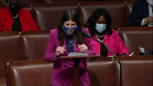 michigan congresswoman haley stevens says in debate on a second impeachment of president donald trump for high crimes and misdemeanors charging trump... - receipt stock videos & royalty-free footage