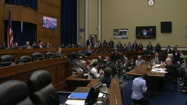 Michigan Governor Rick Snyder tells the House Oversight and Government Reform Committee at a hearing inquiring into the mass lead poisoning in Flint...