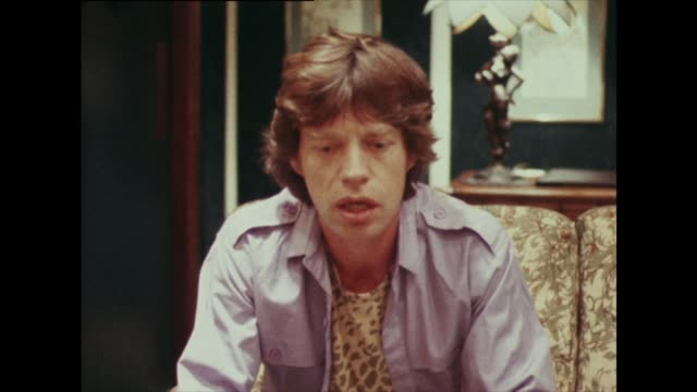 mick jagger on money not being an incentive - durability stock videos and b-roll footage