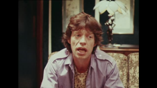 mick jagger on the differences in audiences - rock stock videos & royalty-free footage