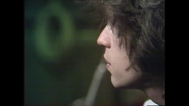 mick jagger speaking in 1972 explains how the best songs were written when working with keith richards compares to lennon and mccartney - young men stock videos & royalty-free footage