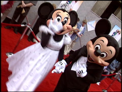 Mickey Mouse at the 'Ice Princess' Premiere at the El Capitan Theatre in Hollywood California on March 13 2005