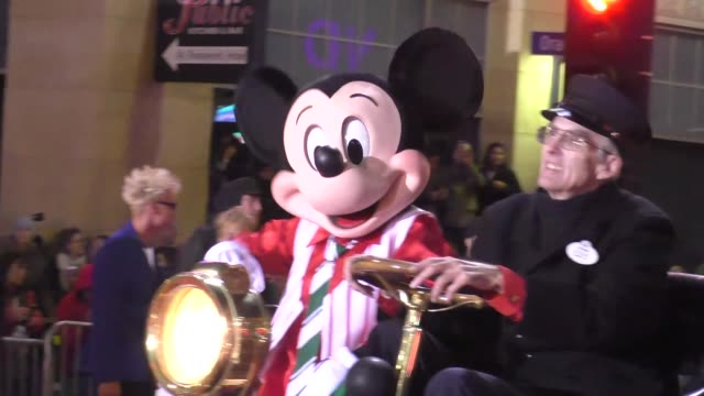 mickey mouse on hollywood blvd at the 85th annual hollywood christmas stock footage video getty images - Mickey Mouse Christmas Videos
