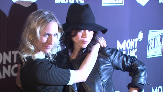 stockvideo's en b-roll-footage met mickey sumner and rosie perez at montblanc presents the 13th annual 24 hour plays on broadway at the b.b. king blues club & grill on 11/18/13 in new... - rosie perez